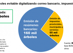 Digitalizar correo bancario salvaría 160 mil árboles al año