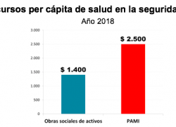 PAMI tiene una insuficiencia estructural de recursos