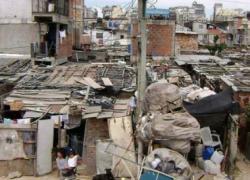 Mayor crecimiento de la pobreza que en Chile y Uruguay
